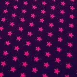 0,5m Jersey Sterne violett-purple (pink) 5% Elasthan 95% Baumwolle Meterware 145cm breit