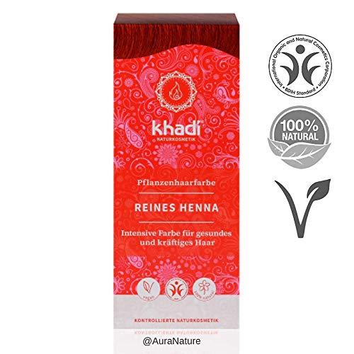 Khadi Henna Natural Pura 100Gr 1 Unidad 100 g