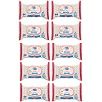 Cool & Cool Baby Wipes 99.9% Water Content, Pack of 10