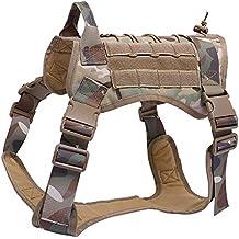 Envío GRATIS en pedidos elegibles. Wildlead Tactical Training Dog Harness Vest Militar Ajustable Molle Chalecos de Nylon Perros Productos
