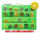#10: High Quality BeyBlades Carrying Case - Stores Dozens Of Battle Spinners - Durable Toy Storage Organizers By Life Made Better