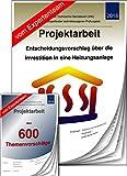 Technischer Betriebswirt TBW Projektarbeit + Präsentation IHK Heizungsanlage +