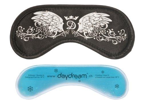 daydream S-4009 Wings Schlafmaske mit Swarovski Elements verziert, mit Kühlkissen