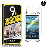 Bear Village Galaxy S3 Vetro Temperato, Nessuna Bolla, 3D Touch Compatible[0.26mm HD Alta Trasparenza] Pellicola Protettiva in Vetro Temperato per Samsung Galaxy S3-1 pezzi