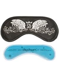 Daydream - S-4009 - Wings Black - Masque de Sommeil avec Poche Rafraîchissante MSE - Noir