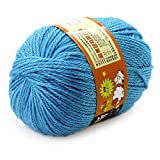 Sky Blue : Baby Yarn Handcraft Worsted 50G Sweater Wool Knitted Soft Knitting Warm