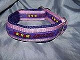 Hunde Halsband Agility lila