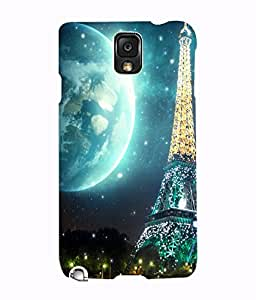 Fuson 3D Printed Designer back case cover for Samsung Galaxy Note 3 - D4510