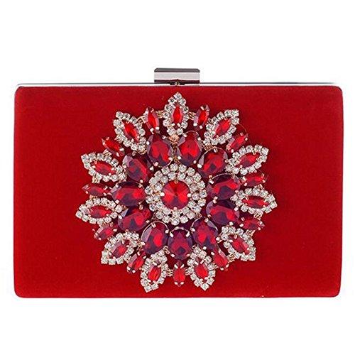keller-diamond-flower-rectangulo-de-cristal-de-las-mujeres-del-embrague-noche-bolsa-color-rojo-talla