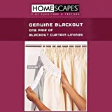 Best Thermal Curtains - Homescapes Blackout Thermal Curtain Lining Pair for 167cm Review