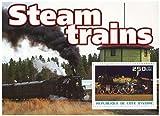 Züge und Dampfmaschinen Minze und postBriefMarkenBogenfür Sammler/fv 200 um/Elfenbeinküste / 2003