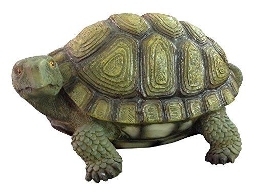 VERDELOOK Statuetta Forma di Tartaruga per Decorazione Giardino arredo Decoro Decorazioni Esterni