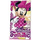 Kids Licensing - WD17726 - Serviette de Plage - Minnie