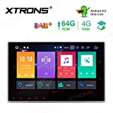 """XTRONS 10.1"""" Radio 4GB RAM 64GB ROM Octa Core Double DIN Android 9.0 Autoradio mit Touchscreen Auto DVD Player 8 Core Autostereo 2DIN CAR Auto Play 4G Bluetooth DAB OBD2 TPMS UNIVERSAL"""