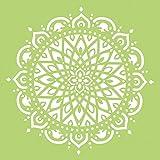Kaisercraft–Plantilla de Mandala (30,5x 30,5cm), acrílico, multicolor, 2piezas