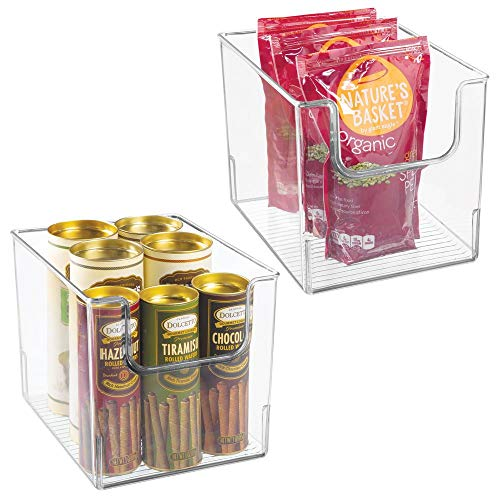 MDesign Juego 2 Cajas Almacenamiento Alimentos - Organizador