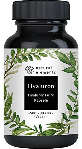 Natural Elements Hyaluron – Hyaluronsäure Kapseln
