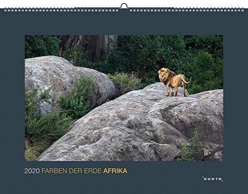 Farben der Erde: Afrika 2020: Kalender 2020 (KUNTH Wandkalender Black Edition)
