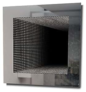 Miroir De Salle De Bain Infinity À Reflet Parfait Avec Lumineux Led Rvb K214Rgb