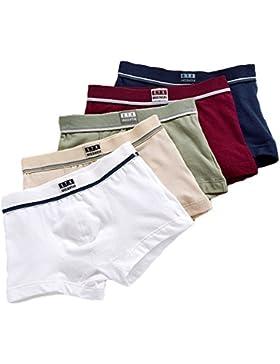 5pcs Boys Briefs - Ropa interior de algodón Calzoncillos Bóxers Pantalones para de 1-14 años Niños - Highdas