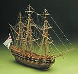 Präsident Englisch Fregatte 1750 Periode Holzgebäude der Modell-Schiff Bausatz Maßstab 1/60 von Mantua Modelle