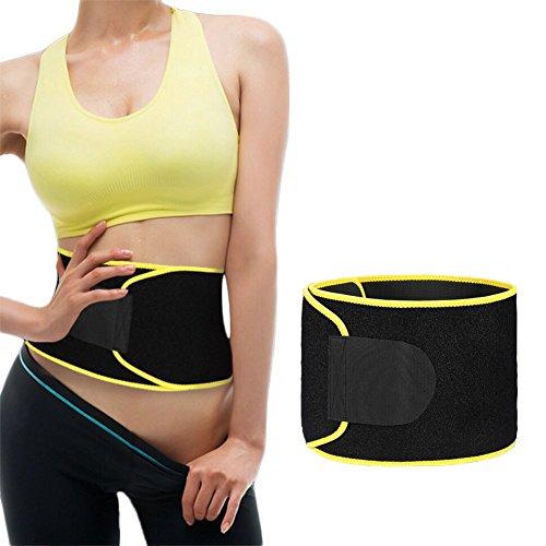 Fitness Belt Bauch für Männer und Frauen Slimmer Belt Strafft die Bauchregion und fördert das Abnehmen