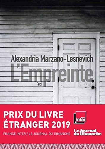 L'Empreinte par Alexandria MARZANO-LESNEVICH
