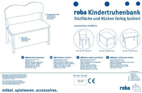 Roba 50768 - Kindertruhenbank -