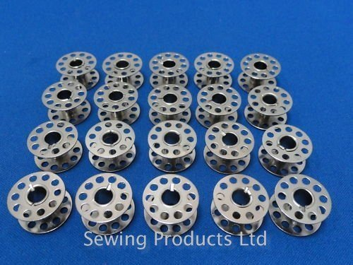 20-metal-high-quality-domestic-sewing-machine-bobbins-will-fit-brothertoyota-janome-clear