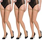 Best Stockings - Cotson Women's Nylon Nude Thigh Length Stockings Review