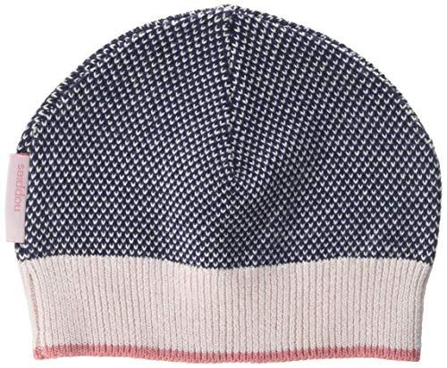 Noppies Baby-Mädchen Mütze G Hat Knit Tilden Mehrfarbig (Midnight Blue C163) One...
