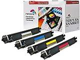 4x Toner Kompatibel zu HP CF-350A, CF-351A, CF-352A, CF-353A 130A HP Color LaserJet Pro MFP M176 n, Pro MFP M177 fw (BK,C,Y,M)
