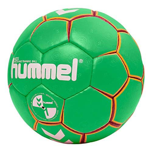 hummel HMLKIDS-Handball für Kinder, grün/Gelb, 0
