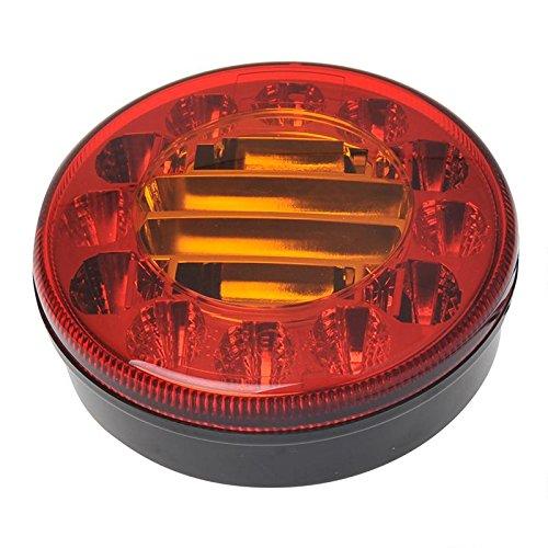 Anhänger Rückleuchte 3 Funktionen 122mm 24 LED Heckleuchte