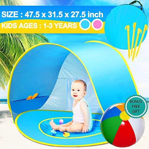 E-MANIS Tienda Playa Bebe,Pop-up Tienda de bebé con Piscina...