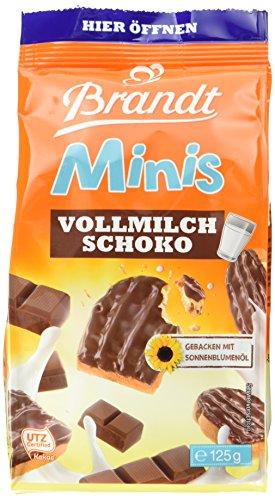 Brandt Mini-Schoko- Zwieback, 12er Pack (12 x 0.125 kg)