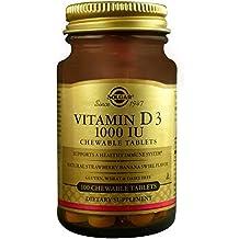 Solgar Vitamina D3 - 100 Tabletas