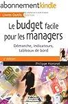 Le budget facile pour les managers :...