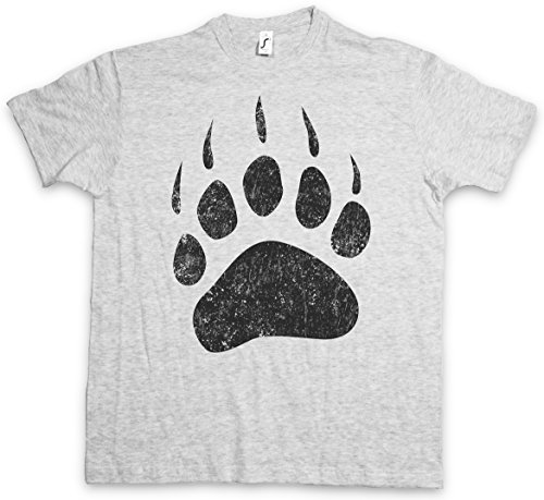 Urban Backwoods Bear Paw T-Shirt - Größen S - 5XL (Hunting Shirts Redneck)