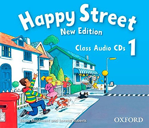 Happy Street 1, New Edition: Class Audio CDs par Lorena Roberts