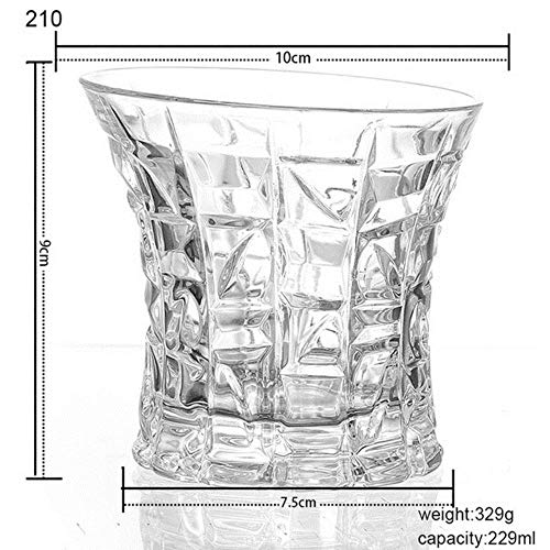 Cranky Orange 1pcs Copo Whisky Glas Blei Kristall Tassen hohe Kapazität Bierglas Wein Tasse Bar EL Glaswaren 20 Arten-in Anderen Glas, 210,201-300ml (Kristall Gläser Orange Wein)