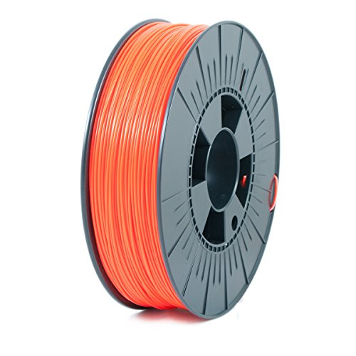 ICE FILAMENTS ICEFIL1ABS045 ABS Filament, 1,75 mm, 0,75 kg, Fluo Obstinate Orange