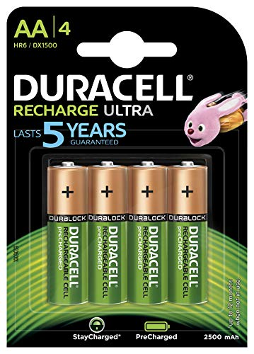 Duracell Recharge Ultra Batterie...
