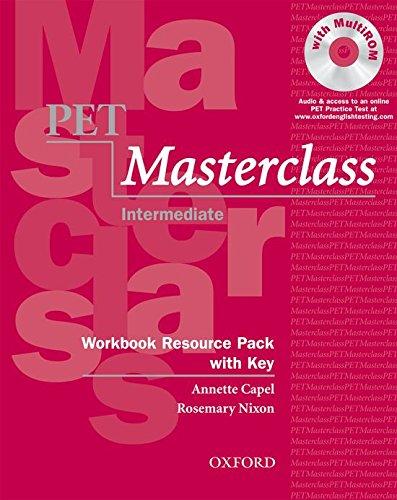 PET Masterclass Workbook Resource Pack with Key (Preliminary English Test (Pet) Masterclass)