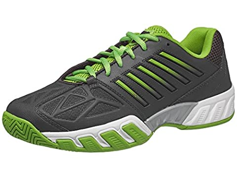 K-Swiss Performance Herren Bigshot Light 3 Tennisschuhe, Schwarz (Dark Shadow/Jasmine Green), 42.5