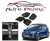 #5: Auto Pearl - Black 3D Car Foot Mats Set Of 5 Pcs. For - Maruti Suzuki Ignis