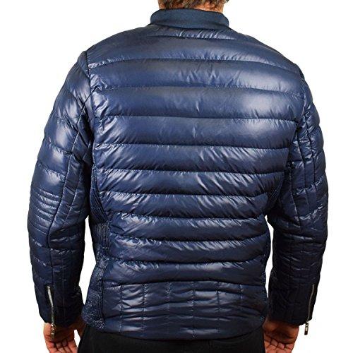 mackten - Doudoune homme double zip bleu Bleu