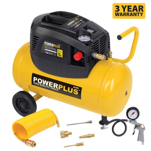 powerplus-15hp-633cfm-230v-mpw-116psi-8bar-oil-free-portable-air-compressor-powx1730-with-kit-tyre-i