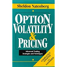 Option Volatility & Pricing: Advanced Trading Strategies and Techniques