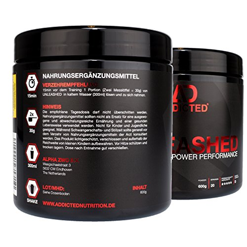 ADDICTED Nutrition UNLEASHED Booster - 2